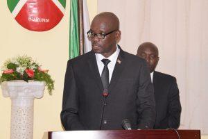 Burundi : Ouverture au Sénat de la session parlementaire de février 2018 ( Photo : RTNB  2018 )