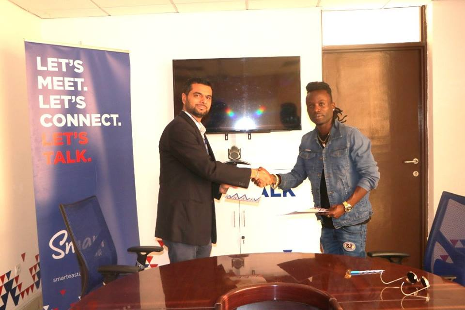 Burundi : SMART Burundi signe un contrat marketing avec Sat-b Satlight ( Photo : ikiriho 2018 )