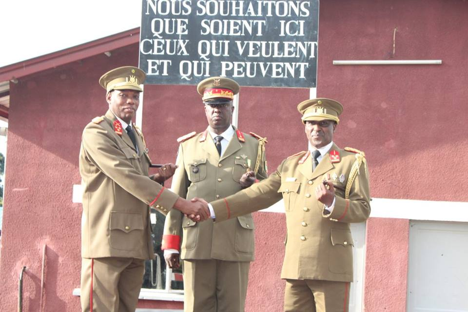 Burundi : L'ISCAM a un nouveau Commandant ( Photo : FDNB 2018 )