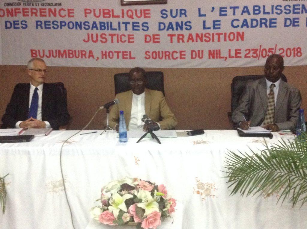 Burundi : La CVR organise une conférence sur le Génocide Burundais ( Photo : ikiriho 2018 )