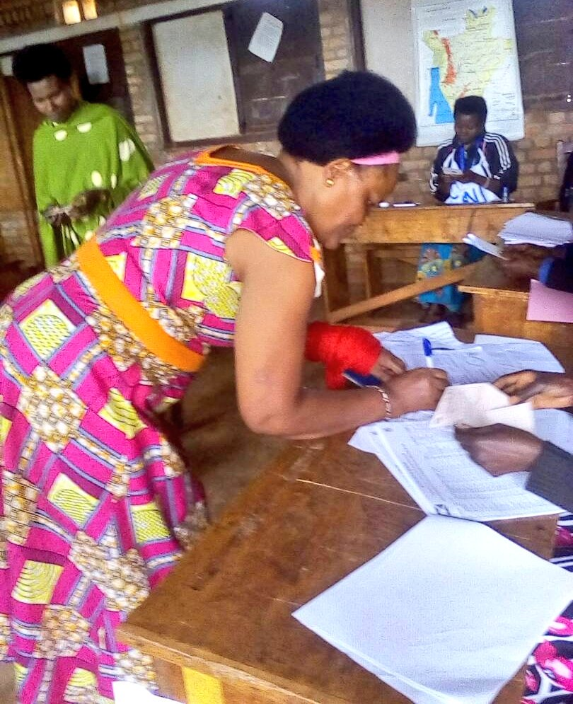 Burundi : MURAMVYA - Le vote pour le REFERENDUM CONSTITUTIONNEL 2018 ( PHOTO : IKIRIHO 2018 )
