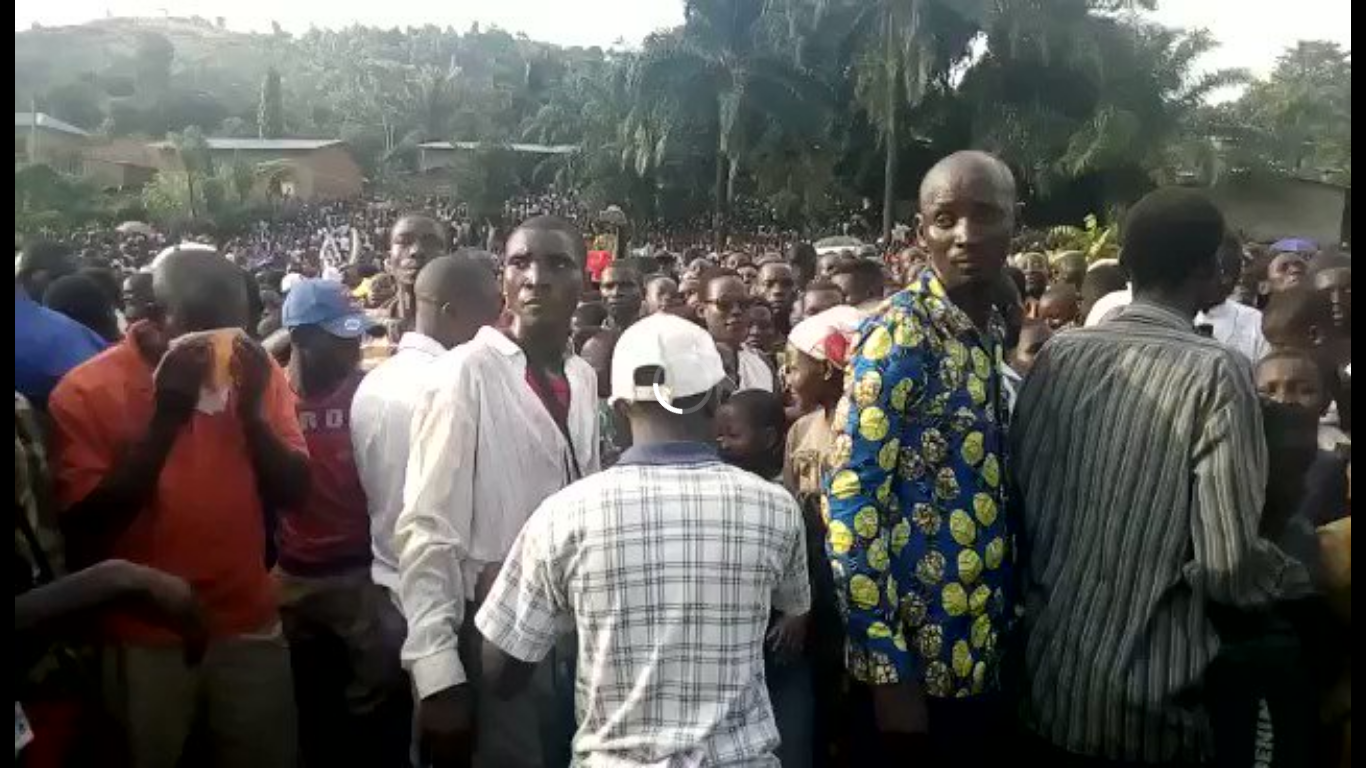 Burundi / REFERENDUM 2018 – DAY 9/13 : Rumonge - Démonstration de force d'AMIZERO Y'ABURUNDI, Tora OYA ( Photo : IKIRIHO  2018 )