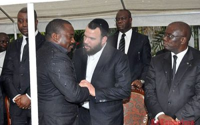 Kabila en visite privée à Washington avec Dan Gertler et gouvernement pas avant octobre 2014 ( Photo : http://desc-wondo.org ).
