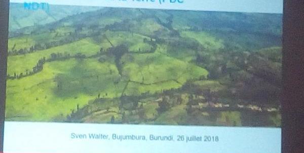 Burundi : Dégradation des terres - Disparitions de sol meuble dans moins de 30 ans ( Photo : rtnb.bi 2018 )