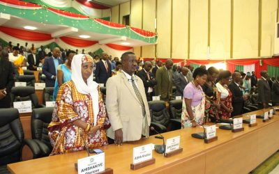 Burundi : Le Parlement ouvre sa Session Ordinaire en remerciant IMANA ( Photo : ASSEMBLEE.BI 2018 )