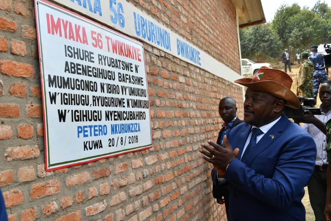 Burundi : Inauguration de l'Ecole Fondamentale de Buriza ( Photo : PPBDI.COM  2018 )