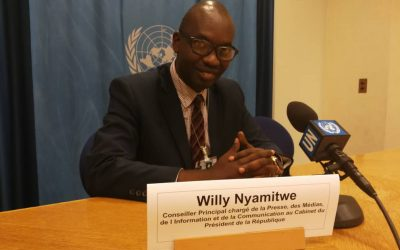 Burundi : L' Amb. NYAMITWE à l'ONU et la Guerre Humanitaire occidentale ( Photo : Nyamitwe Willy 2018 )