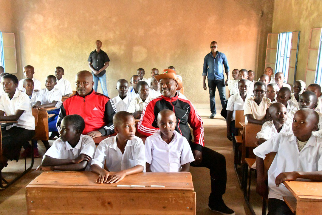 Burundi : Inauguration de l'Ecole Technique de Gatwe, KIRUNDO ( Photo : PRESIDENCE.BI 2018 )