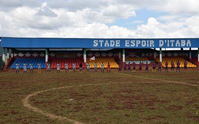 Burundi : Inauguration du Stade Espoir d'Itaba à Gitega ( Photo : ABP 2018 )