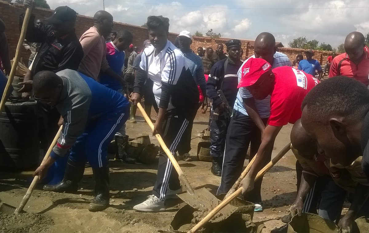 Burundi : TDC – Construction de l'École Technique de la commune Ngozi( Photo : MinJustice.BI 2018 )