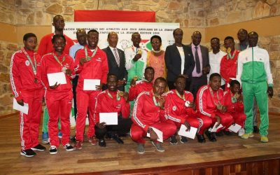 Burundi : Le Comité National Olympique dit merci à 23 athlètes ( Photo : Burundinetmedia 2018 )