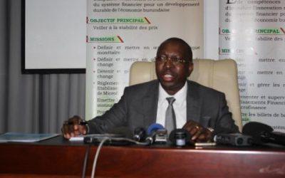 Burundi : BRB - Nouvelles orientations de politique monétaire ( Photo : BRB 2018 )