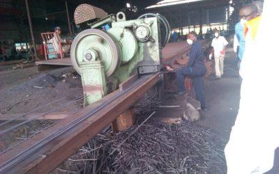 Burundi : Visite du Ministre du Travail à Iron and Steel qui a 200 employés ( Photo : intumwa 2018 )