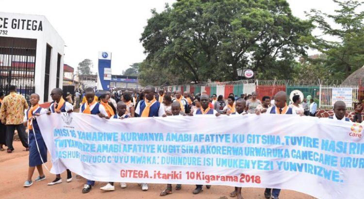 Burundi : Clôture des 16 jours d'activisme contre les violences faites aux filles et femmes ( Photo : ABP 2018 )