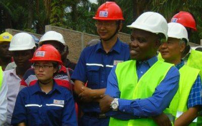 Burundi : Le chantier du barrage hydroélectrique de Ruzibazi ( Photo : ABP 2018 )