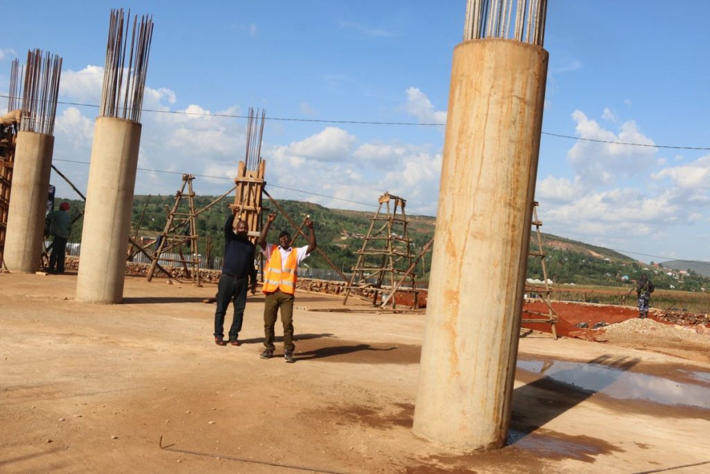 Burundi : Le chantier du Temple d'IMANA au coeur de l'Afrique va bon train ( Photo : INTUMWA 2019 )