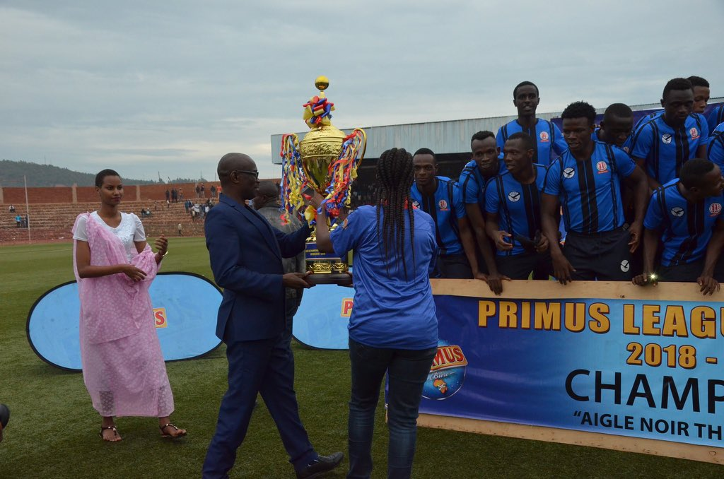 Burundi : Aigle Noir Makamba, Champion de la Primus League 2018-2019 ( Photo : imvaho.org  2019  )