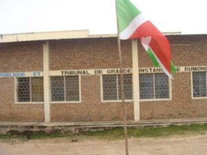 Burundi : TGI de RUMONGE - 20 ans pour tentative d'assassinat, une affaire familiale ( Photo : EJOHEZA NEWS 2019 )