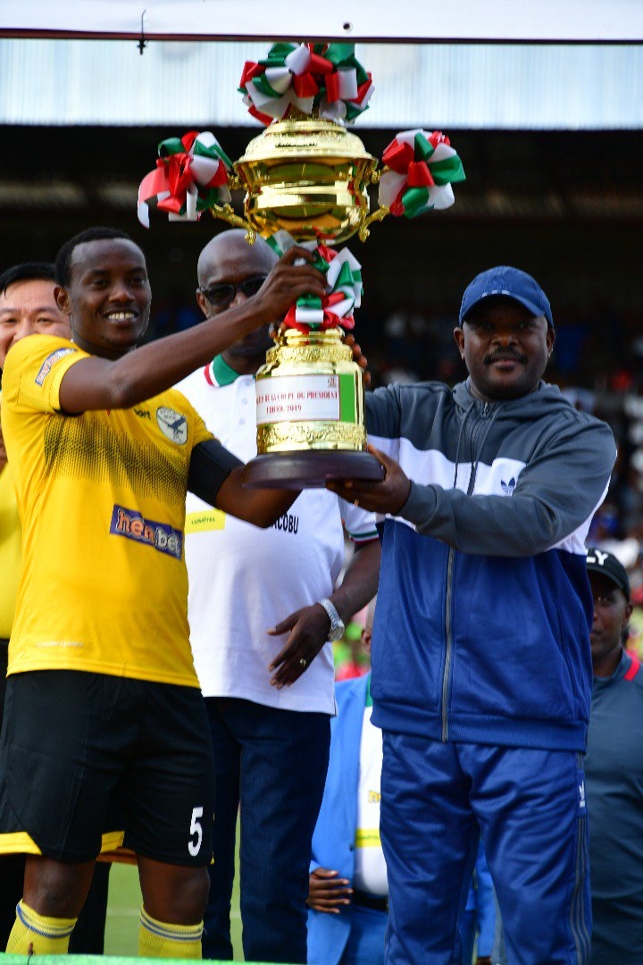 Burundi : Aigle noir remporte la coupe du Président 2019 ( Photo : Le Renouveau 2019 )